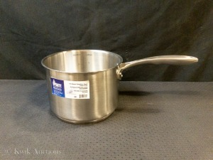 4 QT Heavy Duty Stainless Steel Sauce Pan, Induction Capable CSP-04 - NO LID - Lot of 1