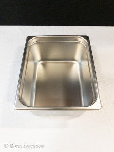 1/2 Size 6'' Deep Stainless Insert (58206) - Lot of 2
