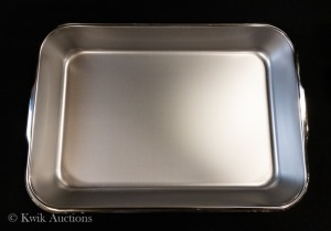 Lot of 3 - Vollrath 18 1/8'' x 12 3/8'' x 2 3/8'' Stainless Bake Pan