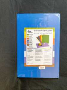 18'' x 12'' x 1/2'' Blue Poly Cutting Boards, Update CBBL-1218 - Lot of 2