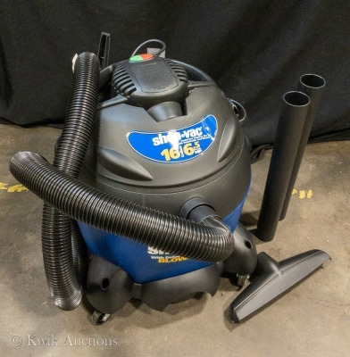 16 Gallon, 6.5 HP Wet / Dry Shop Vacuum with Detachable Blower