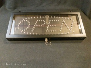 Open Sign - Lighted