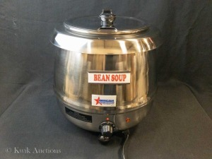 10 lt Stainless Soup Kettle - Omcan SB6000S - Lot of 1