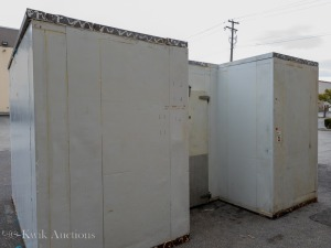 "Combo Walk In Cooler & Freezer - Overall Dims approx. 170"" Wide x 127"" Deep x 102"" High"