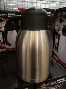 2.0LT Stainless Thermal Coffee Carafe - Omcan 40565